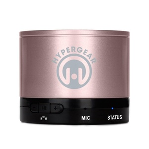 HyperGear Bluetooth/Wireless Speaker for All Smartphones - Retail Packaging - Rose Gold