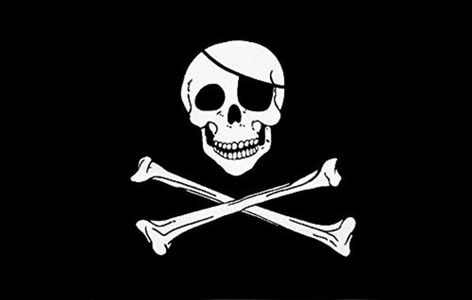 Skull & Crossbones Pirate 3' X 2' 3ft x 2ft Flag With Eyelets Premium Quality Pirate Party by 3Ft x 2Ft Flag