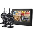 2.4GHz 4-channel Wireless DVR Security System 7