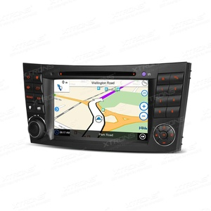 XTRONS 7 Inch Car Stereo Radio Touch Screen DVD Player GPS Screen Mirroring Dual CANbus for Mercedes-Benz E-Class W211