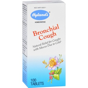 2Pack! Hylands Homeopathic Bronchial Cough - 100 Tablets