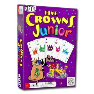 Five Crowns Junior Card Game by Are You Game?