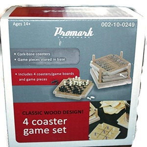 Promark Trademark 4 Coaster Game Set by 4 Coaster Game Set