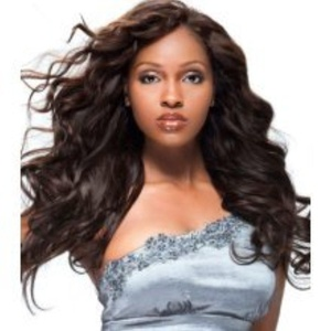 100% Brazilian Remy Human Hair Weave. 16-18. Natural Brown by Brazilian Remy