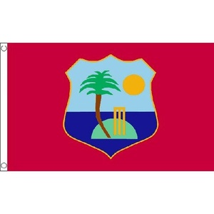 West Indies Flag 5Ft X 3Ft Caribbean Cricket Banner With 2 Metal Eyelets New by West Indies