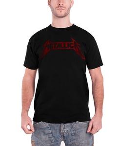 Metallica T Shirt Bang That Head Photo Band Logo Official Mens Black