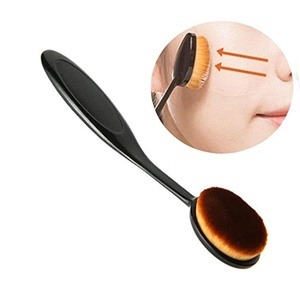 Oval Makeup Brush Cover for Cosmetic Foundation Cream Powder Blush Tool 1PCS