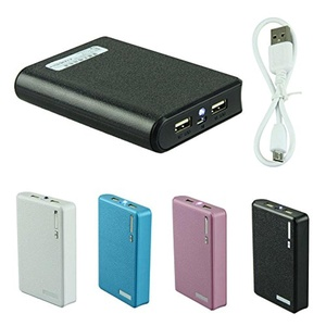 12000mAh Backup External Battery Dual USB LED Power Bank Charger for Cell Phone