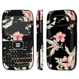 [ZTE Altair 2 Z432] Skin [NakedShield] Scratch Guard Vinyl Skin Decal [Full Body Edge] [Matching WallPaper] - [Foil Flowers] for AT&T GoPhone ZTE Z432 [Altair 2]