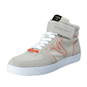 Versace Jeans Men's Suede Canvas Fashion Sneakers Shoes US 11 IT 44;