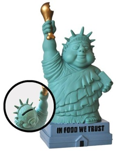 Big Mouth Toys Statue Of Gluttony Bank by Big Mouth Toys