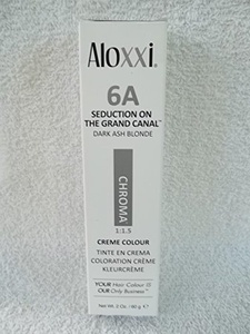 Aloxxi Chroma Permanent Hair Color 6A Dark Ash Blonde 2 oz by Aloxxi