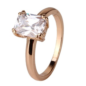 T&T ring Fashion White Jewelry Ring Gold Plated For Women Engagement Wedding Bridal Rings (9)