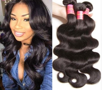 Brazilian Virgin Hair Natural Wave, 100% Human Hair, Double Wefted, Minimum Shedding, Easy to color, Soft in texture, Unprocessed, (12-20in)