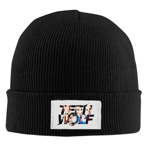 Teen Wolf Unisex Cool Black Wool Winter Knit Hats One Size