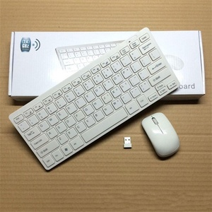 Mini 2.4G DPI Wireless Keyboard and Optical Mouse Combo for Tablet Desktop PC OY