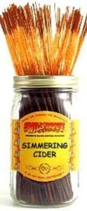 Simmering Cider - 100 Wildberry Incense Sticks by Wildberry 100 Stick Pack