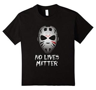 Kids No Lives Matter T Shirt 4 Black