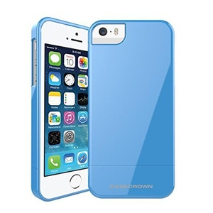 CaseCrown Bonbons Glider Case (Bubblegum Blue) for Apple iPhone 5 / 5s by CaseCrown