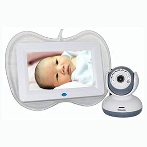 Nolia 2.4GHz Wireless 7Inch LCD Monitor Wireless Security 4 Camera System IR Night Vision Quad DVR