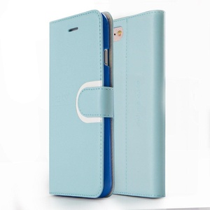 Zizo Handmade PU Leather Wallet Case For iPhone 7 Plus Pouch TPU Inside Case Cover IDs Credit Card Holder Kickstand