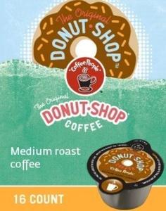VUE! 16 Count Coffee People Donut Shop Coffee Vue Pack For Keurig Vue Brewers by Coffee People
