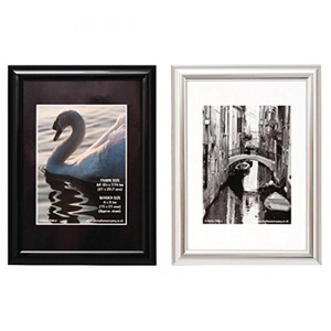 Photo Album Company Certificate Frame A4 Shiny Black PILA4SHIN-Black