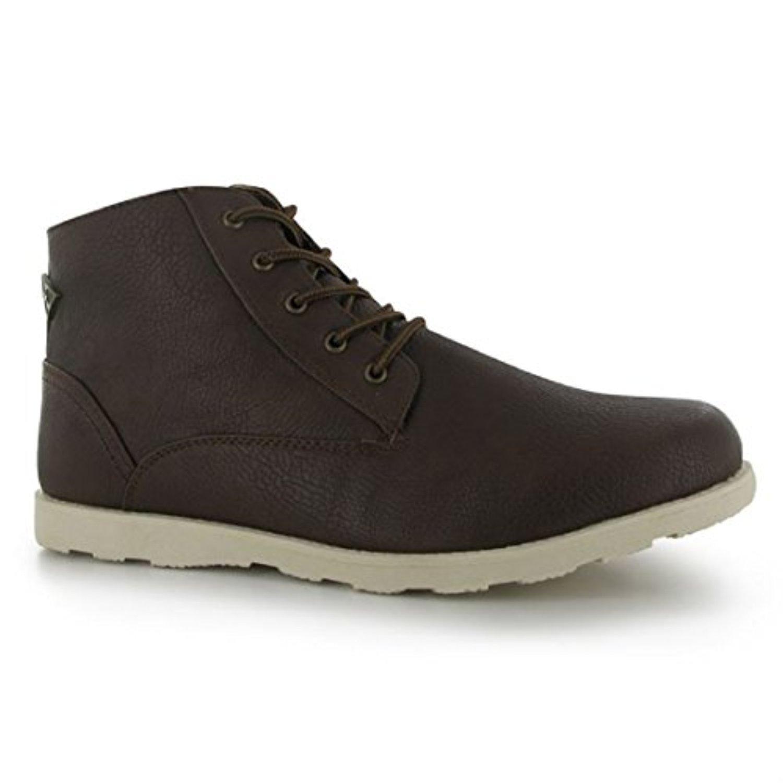 Mens Soviet Remix Boots Shoes Brown (UK 7 / US 7.5)