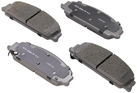 ACDelco 14D1351CH Advantage Ceramic Front Disc Brake Pad Set by ACDelco