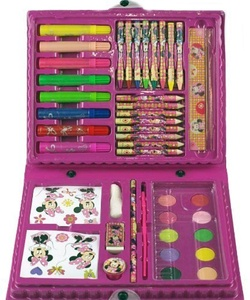 Disney Minnie Mouse 50 Piece MEGA Art And Colouring Box Carry Case Gift Set by DSS