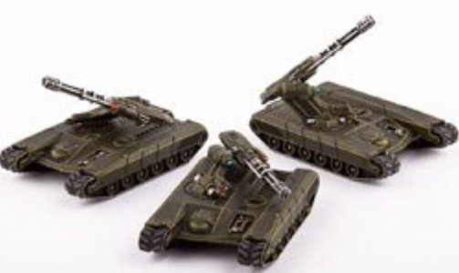 Dropzone Commander UCM - Land Vehicles - Rapier AAT's by Dropzone Commander