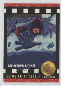 The Sentinel Strikes! (Trading Card) 1993 SkyBox Marvel X-Men: Series 2 - [Base] #92