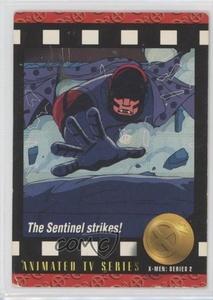 The Sentinel Strikes! (Trading Card) 1993 SkyBox Marvel X-Men: Series 2 - [Base] #92