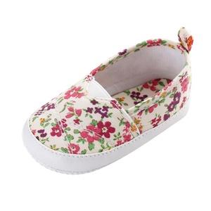 Gotd Newborn Baby Girl Floral Soft Sole Prewalker Crib Shoes Toddler Shoes