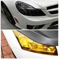 Translucent Heterochrosis Car Rear Light Membrane 60cm*30cm