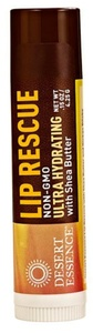 Desert Essence Lip Rescue Ultra Hydrating with Shea Butter -- 0.15 oz