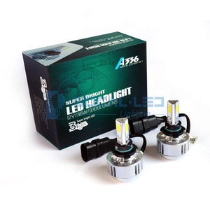 Automotive Headlight Bulbs LED Conversion Kit Xenon 6000K White Halogen/HID Replacement