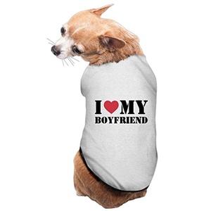 Lovely Pet Supplies I Love My Boyfriend Big Dog Clothing
