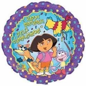 18 Dora The Explorer Birthday Balloon (1 ct) by M&D Industries