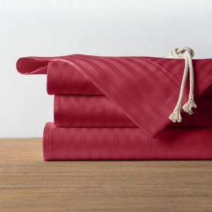 1800 Count 4 Piece Soft Wrinkle Free Deep Pocket Bed Sheet Set Burgundy/Full