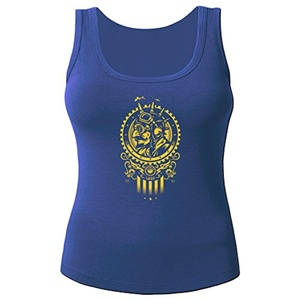 Steampunk 1852 for Women Printed Tanks Tops Sleeveless T-shirt