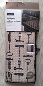 Harman Corkscrew printed Drying Mat