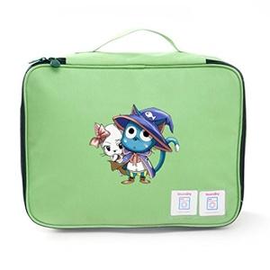Aoapp Cartoon Fairy Tail Happy Oxford Portable Storage Bags Travelling Cosmetics Organize Bag