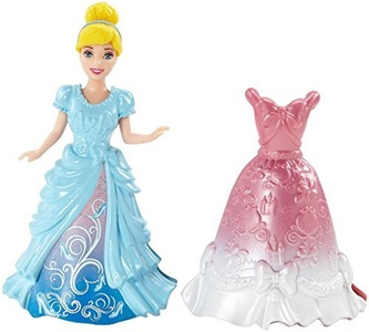 Disney Princess Magiclip Cinderella Doll and Fashion by Barbie
