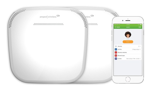 Amped Wireless ALLY Plus, Whole Home Smart Wi-Fi System ( ALLY-0091K)