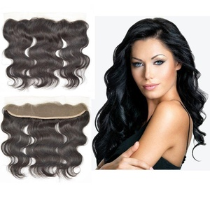 Virgin Hair Factory Ear to Ear Lace Frontal Closure Body Wave 13