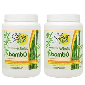 Silicon Mix Bambu Hair Treatment 60oz Pack of 2 by Silicon Mix