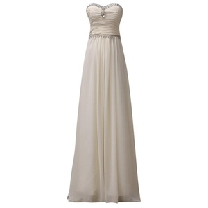 oppicong Women's Plus Size Bridal Gown Handmade Gemstone Strapless Long Dress Champagne6