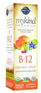 Garden of Life mykind Organics Organic B-12 Spray, 2oz Spray