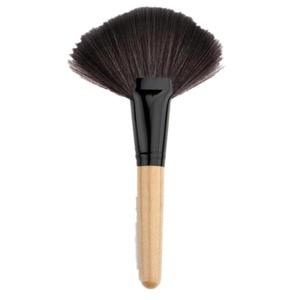 Elevin(TM) Makeup Fan Blush Face Powder Foundation Cosmetic Brush (Beige)